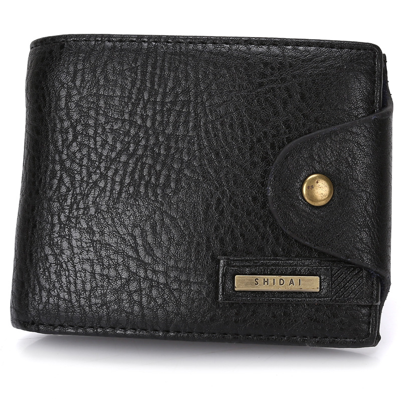 Genuine Leather Men Wallets Purses Male Wallet Slot Pocket Hasp Coin Purse With Card Holder Real Skin Carteira Masculina for Man