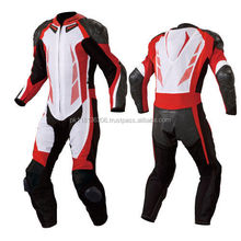 Motor biking suitLeather motorcycle racing suit, Genuine cow hide leather