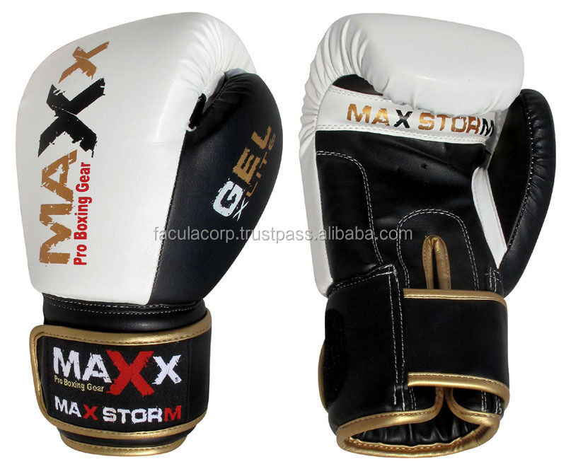 MAYA Leather Boxing Gloves Fight Punch Bag MMA Muay thai Gloves Pad Gloves FC-01-120