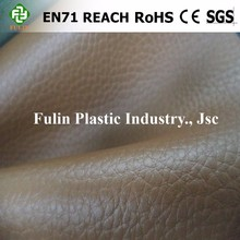 sponge foam pvc vinyl fabric synthetic leather for auto sofa upholstery