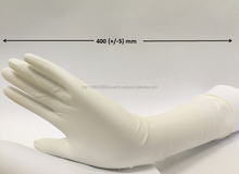 Elbow Length Latex Gynaecology gloves