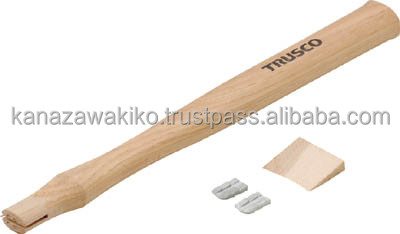 TRUSCO Wooden Handle for Single-Ended Hammers (with Wedge) TKH02K