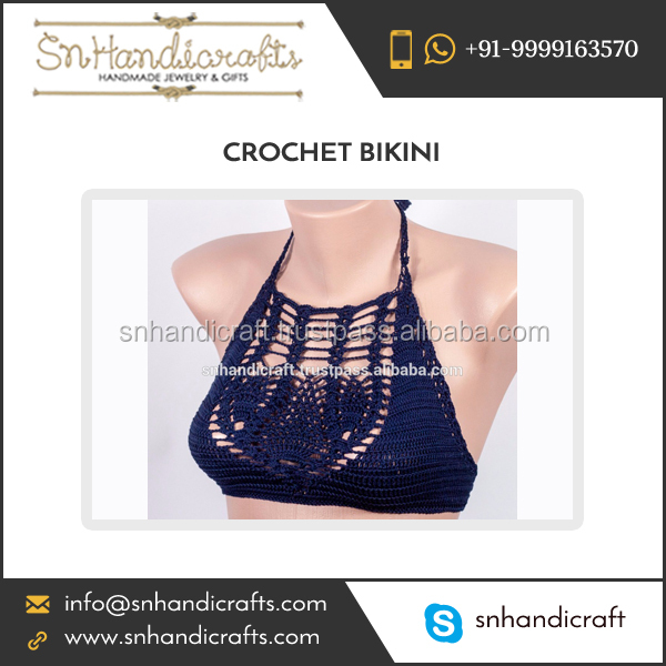 Sexy Knitted Crochet Lace Bikini for Bulk Buyers