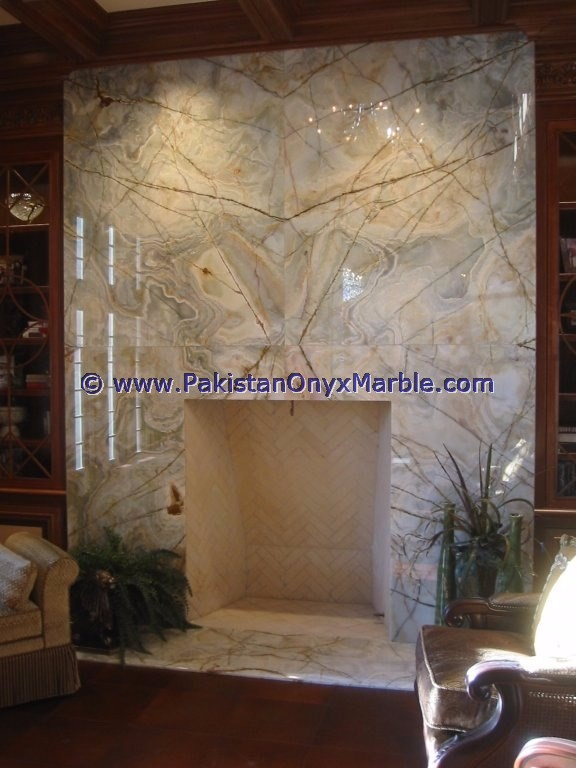 PAKISTAN ONYX MARBLE EXPORTER OF AFGHAN GREEN JADE ONYX FIREPLACES