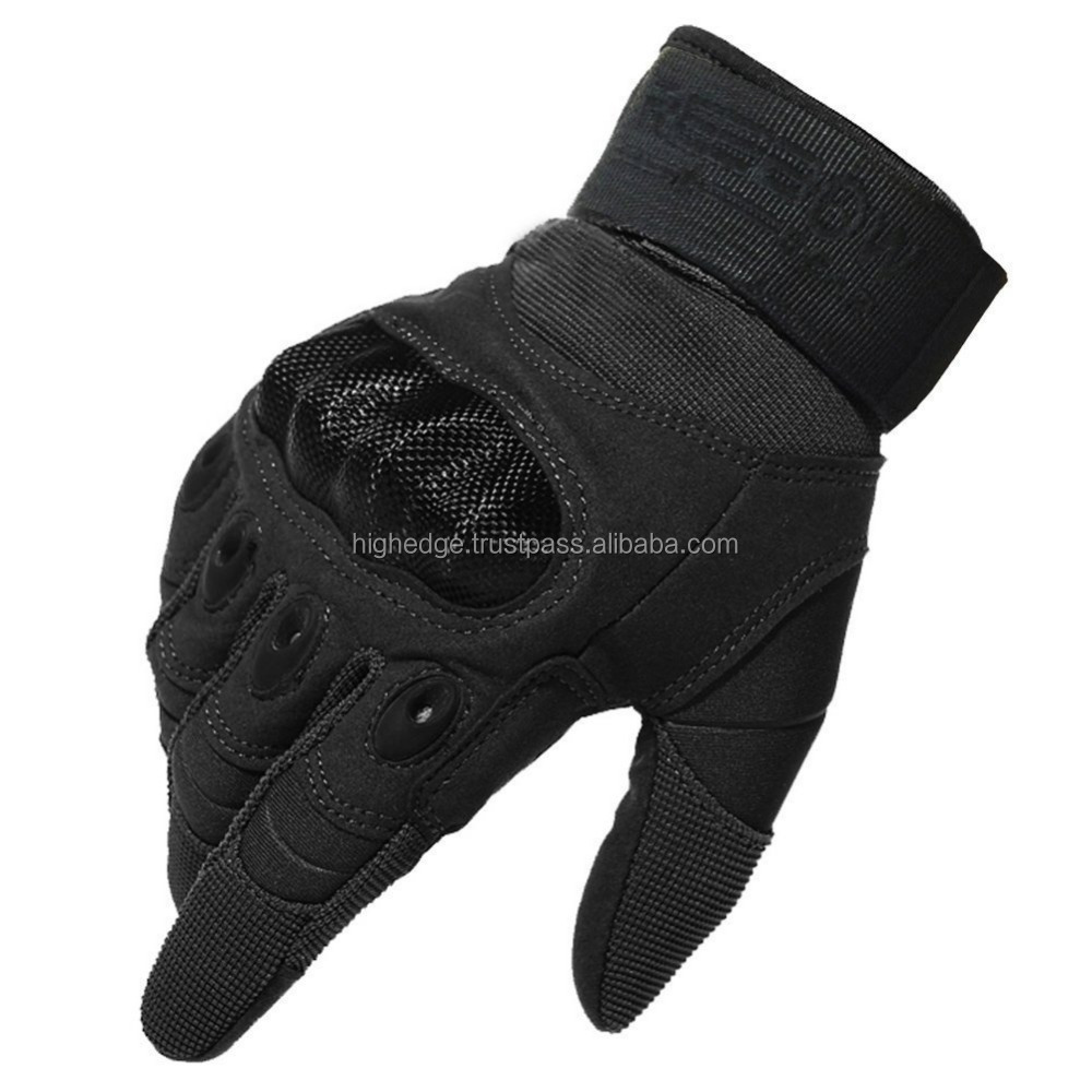 Military Hard Knuckle Tactical Gloves Full Finger for Army Gear Sport Shooting Paintball Hunting Riding Motorcycle