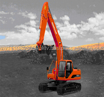 DOOSAN excavator original Japan DH220LC-7 used crawler excavator good condition