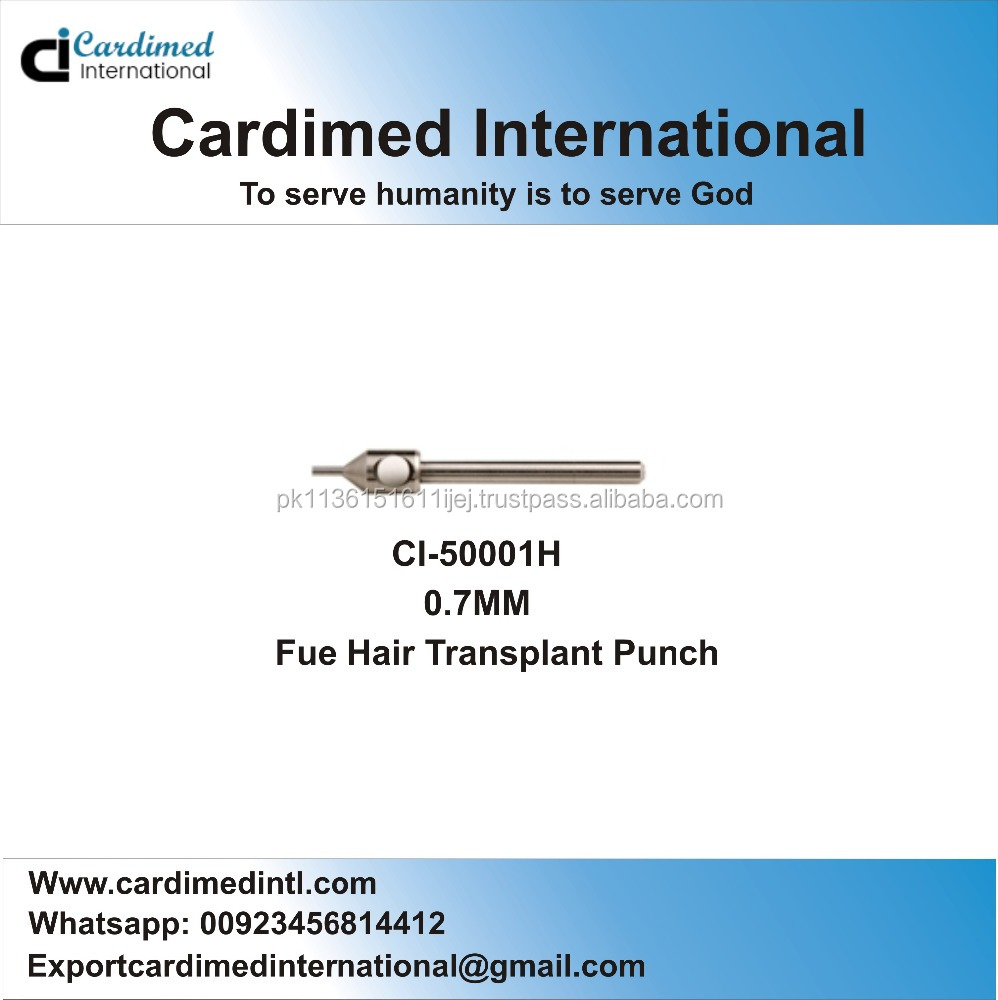 Fue Hair Transplant Punch 0.70 mm