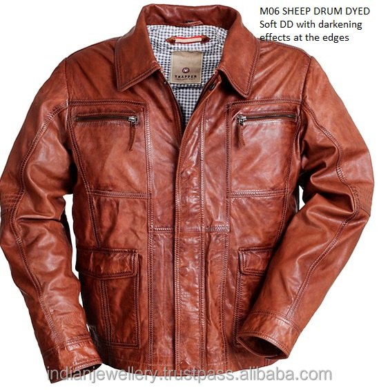 Genuine Leather Jacket Manufacturer, OEM Leather Jacket Exporter