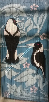 The cheapest door curtain beaded in Vietnam magpie