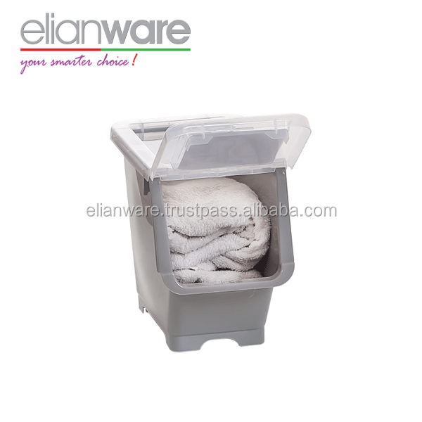 Plastic Storage Cabinet Box with Roller Wholesale