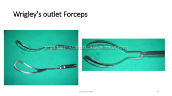 Wrigley outlet Forceps Wrigley's TYPE OBSTETRICAL FORCEPS Gynecology Surgical Instruments
