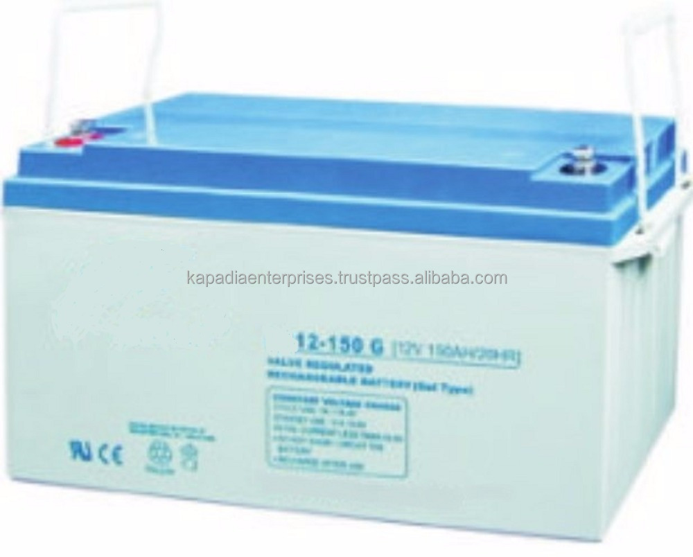 12V 150Ah Gel Deep Cycle Battery