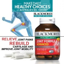 BLACKMORES Joint Formula Advanced 120s Fr USD$22/bottle