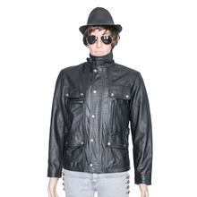 2016 Hot selling leather jacket for men