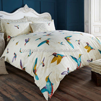 king from boho cotton bedclothes home duvet bird bedding bed cover flower size set sheet in item luxury bohemian soft sets purple adult queen
