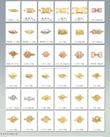 14k gold clasps and findings