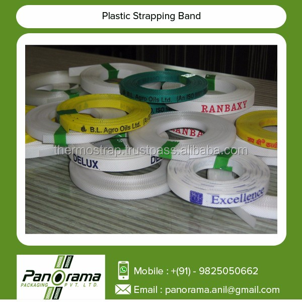 Standard Size Printed PP Plastic Strapping Tap