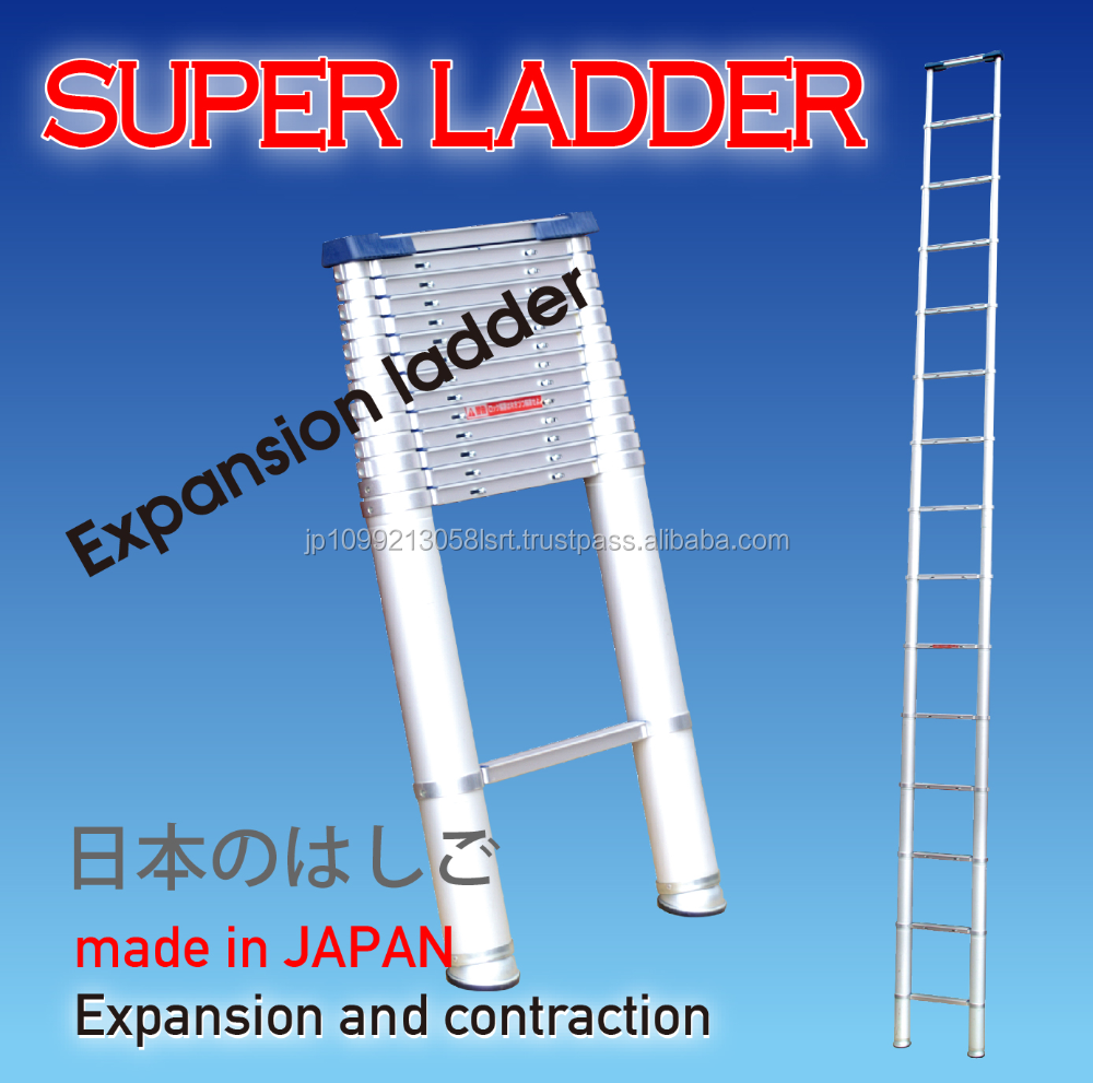 Easy to use reliable aluminium extension ladder , OEM available