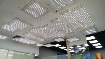 Polymagic LED Glass