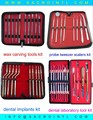 Professional DENTAL 8 PIECE Kit Scalers
