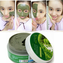 Mung Bean Mineral Mud Facial Mask Clean Purify Shrink Acne Blackhead Whitening