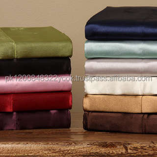 100% Cotton T-300 to T-600 solid sheet sets