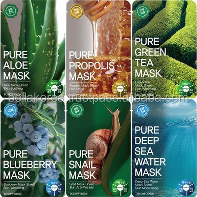 Korean Cosmetics Skin Care Facial Mask Sheet, Mask Pack