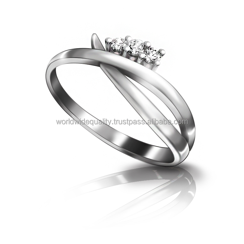 Best quality 925 cz ring sterling silver jewellery thai products online