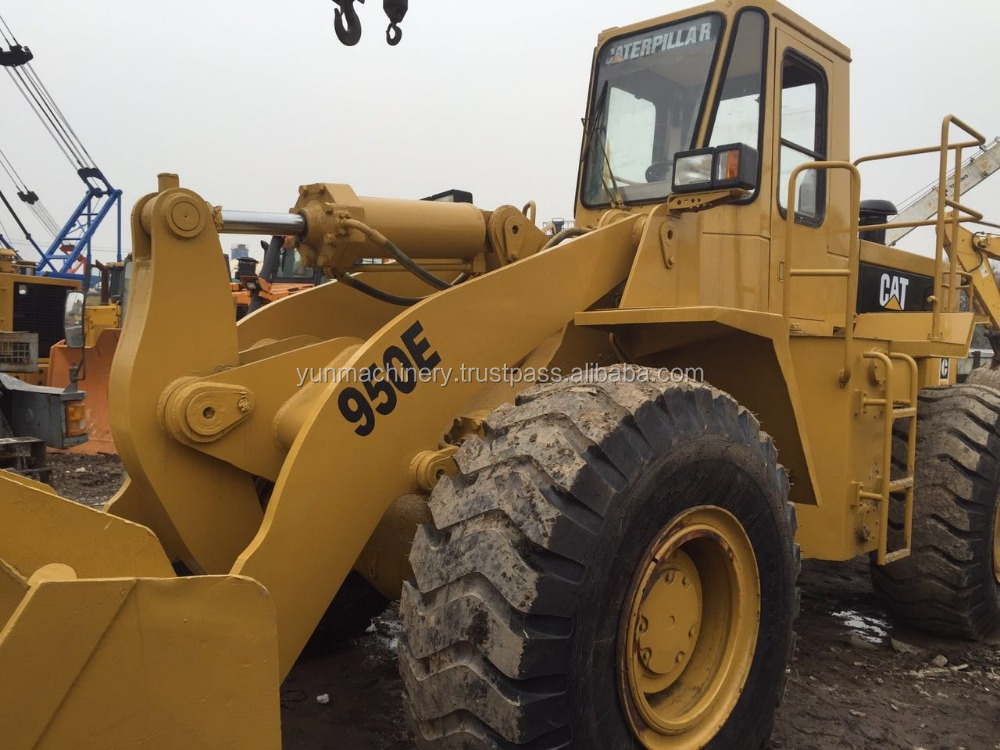 Used Caterpillar 950E Wheel Loader /Cat 950 Loaders