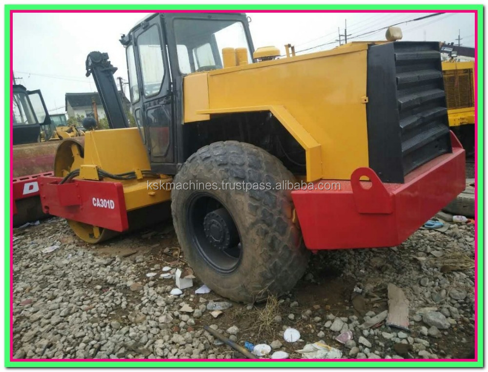 road roller dynapac CA301D used asphalt rollers for sale pasta roller dynapac hydraulic pump new road roller price
