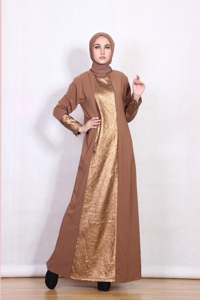 HIGH QUALITY simple and elegant abaya moeslem dress islamic clothing