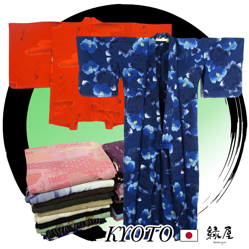 Secondhand Beautiful Names different clothing styles Japanese Traditional Garment Kimono
