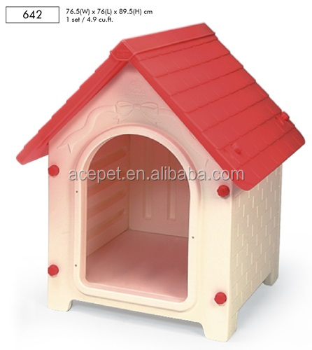 642-Taiwan design Lucky Large Dog House,dog outdoor houses,Plastic Pet house
