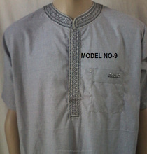 new style hooded men thobe moroccan baju abaya kaftans for sale