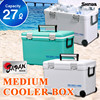 Cooler box27L Japan made ice warm and cool box with wheel fishing pp cooler box with wheels HOLIDAY LAND COOLER CBX 27L