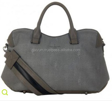 men genuine leather travel holdall bag leather duffle bag