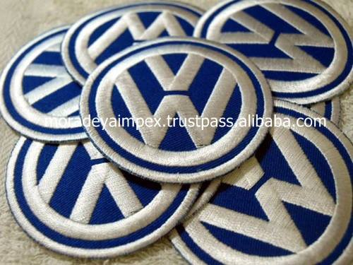 Car Custom Embroidery Patches Car Race Embroidery Badges Sports Car Embroidery Patches
