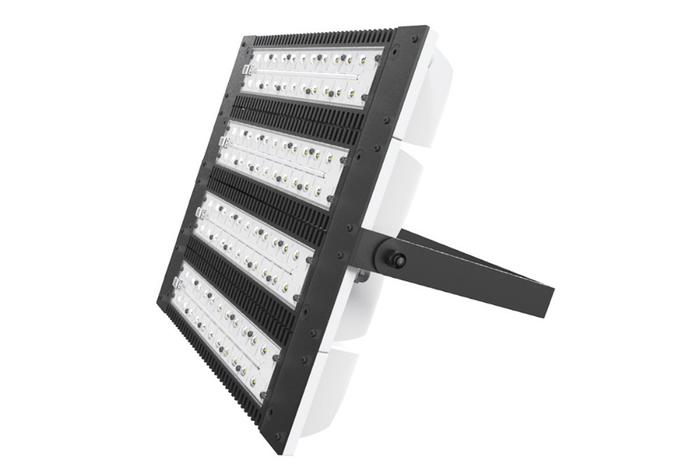 LED CREE outdoor industrial light 220W, road/street illumination, commercial lighting