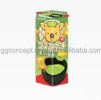 Lotte Koala's March Green Tea Cookies 37g Box / Koala's March Biscuit / Wholesale Biscuits