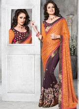 Saree hand work blouse designs