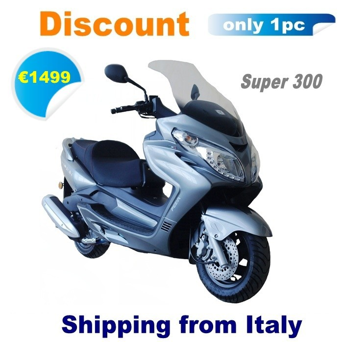 (Discount) 2016 NEW low cost scooter for sale 300cc water cooling EEC HIGH quality (Super)