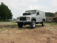 USED CARS - LAND ROVER DEFENDER 110 TDI (RHD 6092)