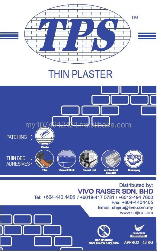 TPS Thin Bed Adhesives
