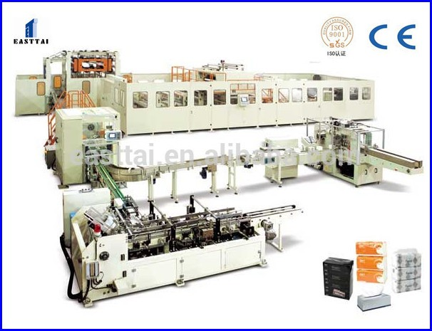 Automatic Napkin Tissue Paper Serviette Folding Embossing Making Machine