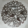 Tree of Life with Birds Products Of Haiti Metal Art