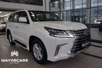 LEXUS LX450d 2016 4.5 DIESEL 272Hp WHITE/WHITE READY TO EXPORT FROM RUSSIA