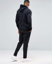High Quality Custom Mens Tracksuit 100% Cotton Blank Latest Design Plain Sweat Suits