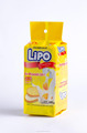 Crispy cream cookie Lipo 135g bag packaging - high energy biscuit from Vietnam