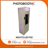 Nightclub POD Photobooth with Dslr Camera and Printer Designed for Events