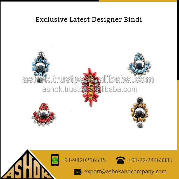 Similar Products Contact Supplier I'm Away Indian latest forehead bindi arts design wholesale forehead bindi stickers